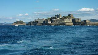長崎県-軍艦島-
